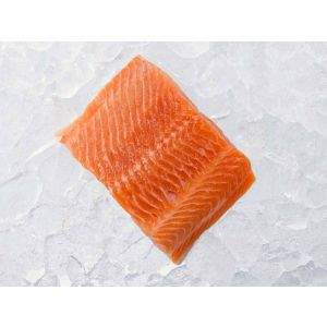 Fresh Arctic Char Portion on Ice